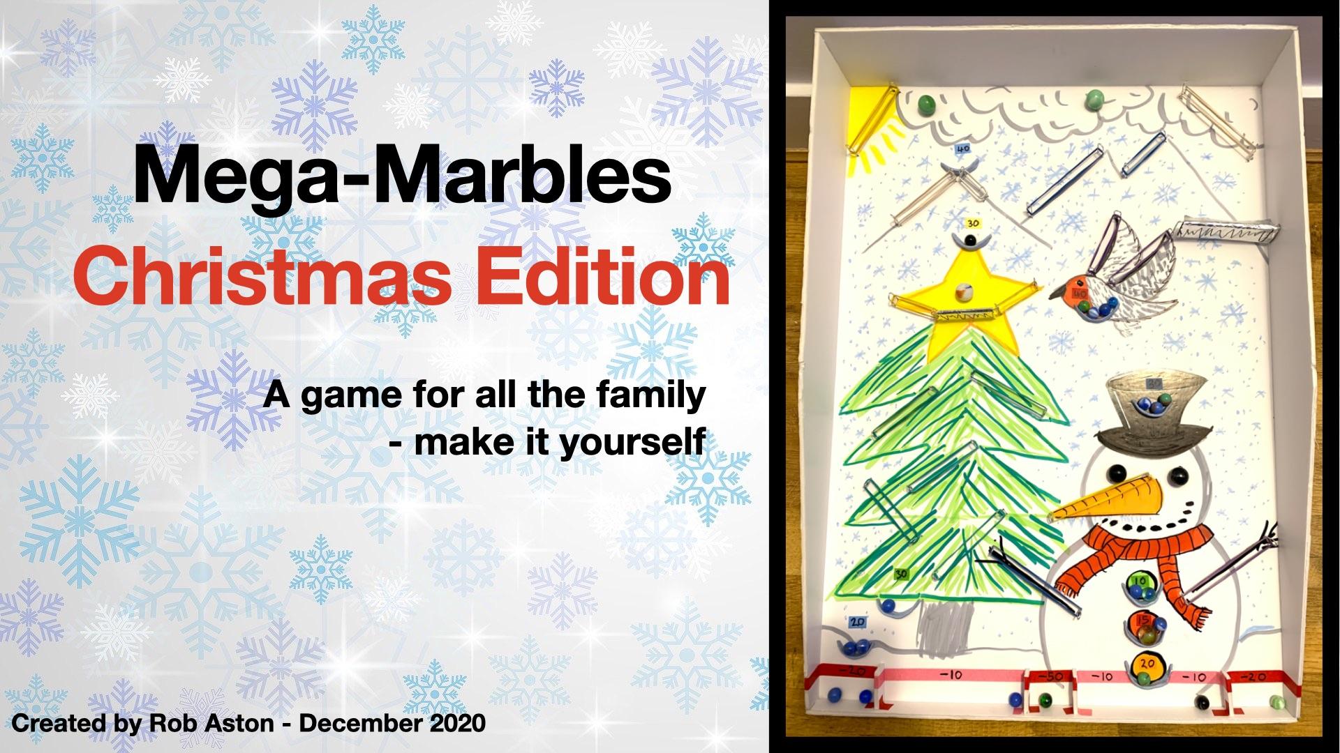 Mega-Marbles Christmas Edition [video]